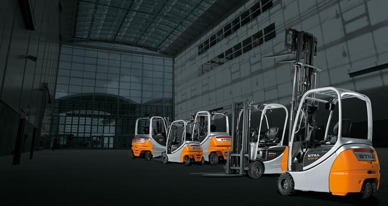 Electric forklift trucks from STILL are No. 1 wherever noise reduction and freedom from exhaust gas pollution are priorities.